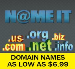 Nameit.net - Cheapest Domain Registration