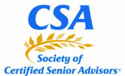 CSA, SCSA, Working with Seniors, Senior Market, Professionals working with seniors, Senior Advisor, Certified Senior Advisor