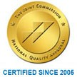 Certified by The Joint Commission since 2005