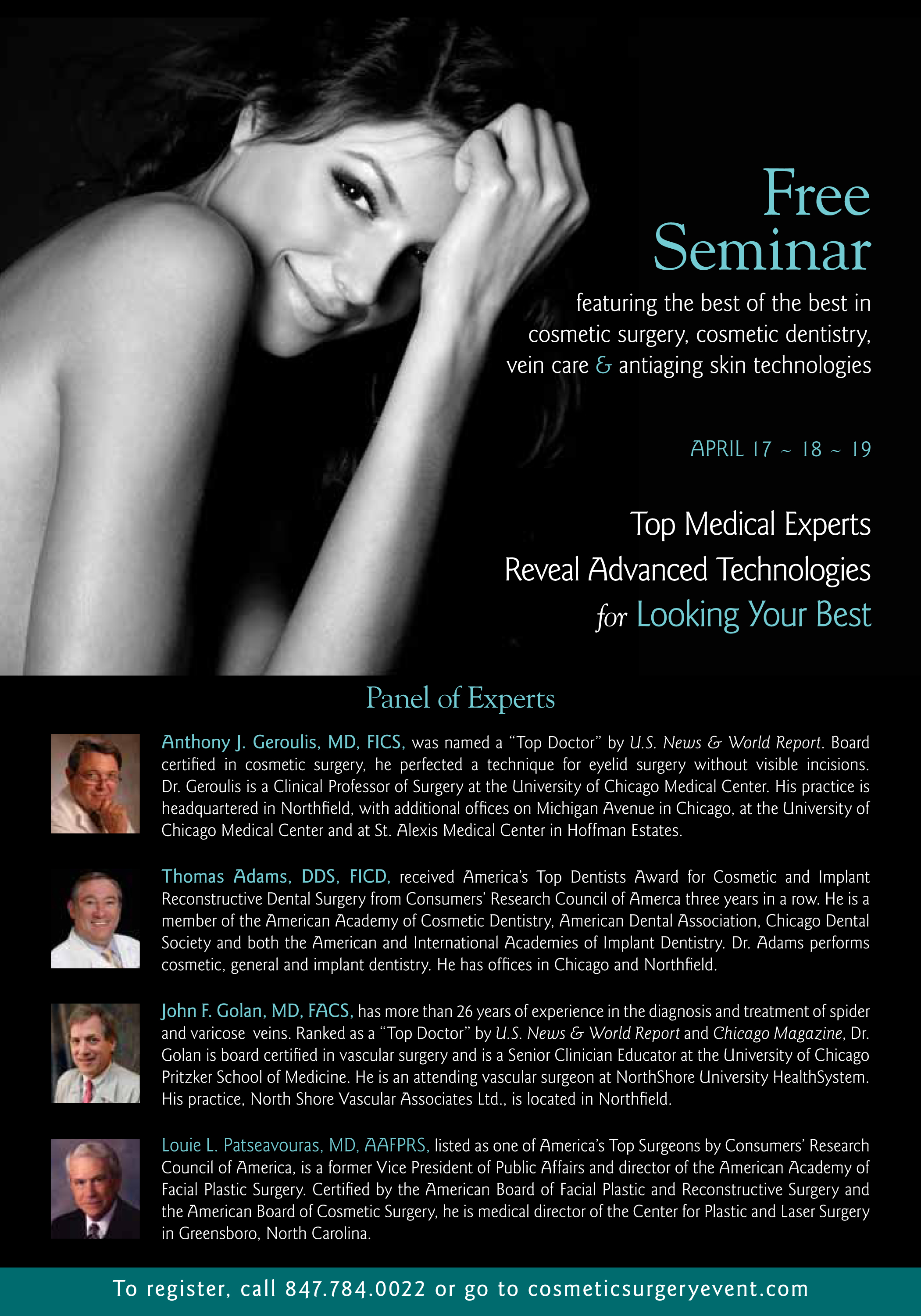 facelifts  eyelids  liposculpture  hear about cosmetic