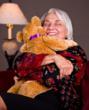 Grandmother with a Hug Gram Teddy Bear from The Serious Teddy Bear Company