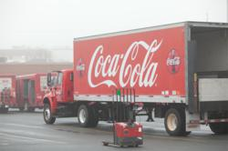 Coca-Cola Consolidated Trailer