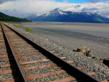 Alaska Railroad near Girdwood