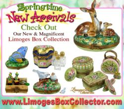 New Collection of Beauchamp Limoges Boxes at www.LimogesBoxCollector.com