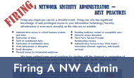 Best Practices For Firing a Network Security Administrator
