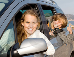 Turn car time into coaching time with the Adventures in Wisdom Mentoring program for kids