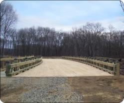 Oxford Greens' One-of-a-Kind Timber Vehicular Bridge