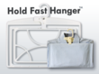 Maximize closet space savings and stay organized with the hold fast hanger