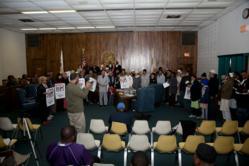 Prayer for Victims of 2002 Gujarat Pogrom at Mayor Eric J Kellogg's Office of Harvey, Illinois