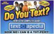 Do You Text? Theme Card