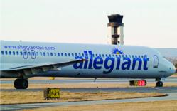 Allegiant Service From Lehigh Valley International Airport
