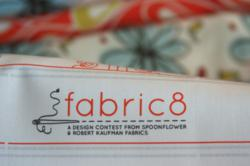 Fabric8 contest sponsored by Spoonflower and Robert Kaufman Fabrics
