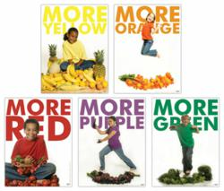 color poster, kids poster, myplate poster, nutrition poster