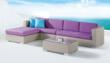 Deltona 4-Pieced Patio Sectional
