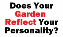 garden reflects your personality