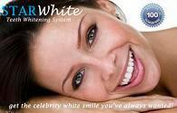 starwhite teeth and at home teeth whitening product