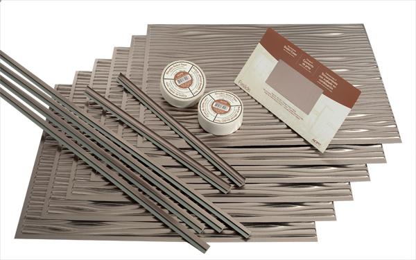 Kitchen backsplash project kits from best free home for Easy kitchen backsplash kits