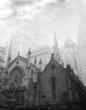 Trinity Church, black and white photography, architect photography, NYC