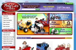 www.PedalCarsAndRetro.com new web site