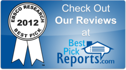 ARS receives 2012 Best Pick certification