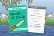 Brush of Truth has 65 decision points and 20 possible endings.