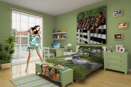Horse Themed Room Butterfly Themed Room