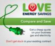 Save money on electricity and gas