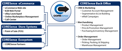 CORESense All-in-One Retail and Ecommerce Management Software Solution