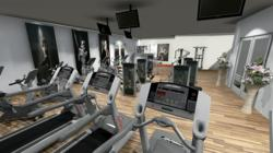 Gym design has industry standard set with 3d design for Gym design software