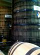 The massive barrels used for processing the tequila.  (photo courtesy No Mas!)