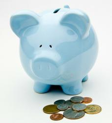 Budgeting, frugal living, saving for retirement, wealth building strategy photo