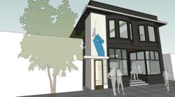 The Glasswood commercial Passive House retrofit project. Rendering by Scott|Edwards Architecture.