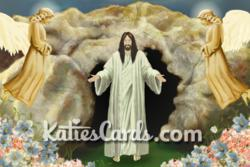 New 'Easter Sunday' Easter ecard from www.katiescards.com