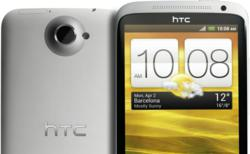 HTC One X in white