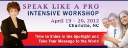 public speaking workshop sales training