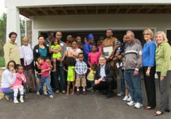 Twin Cities Habitat new homeowner families in Woodbury