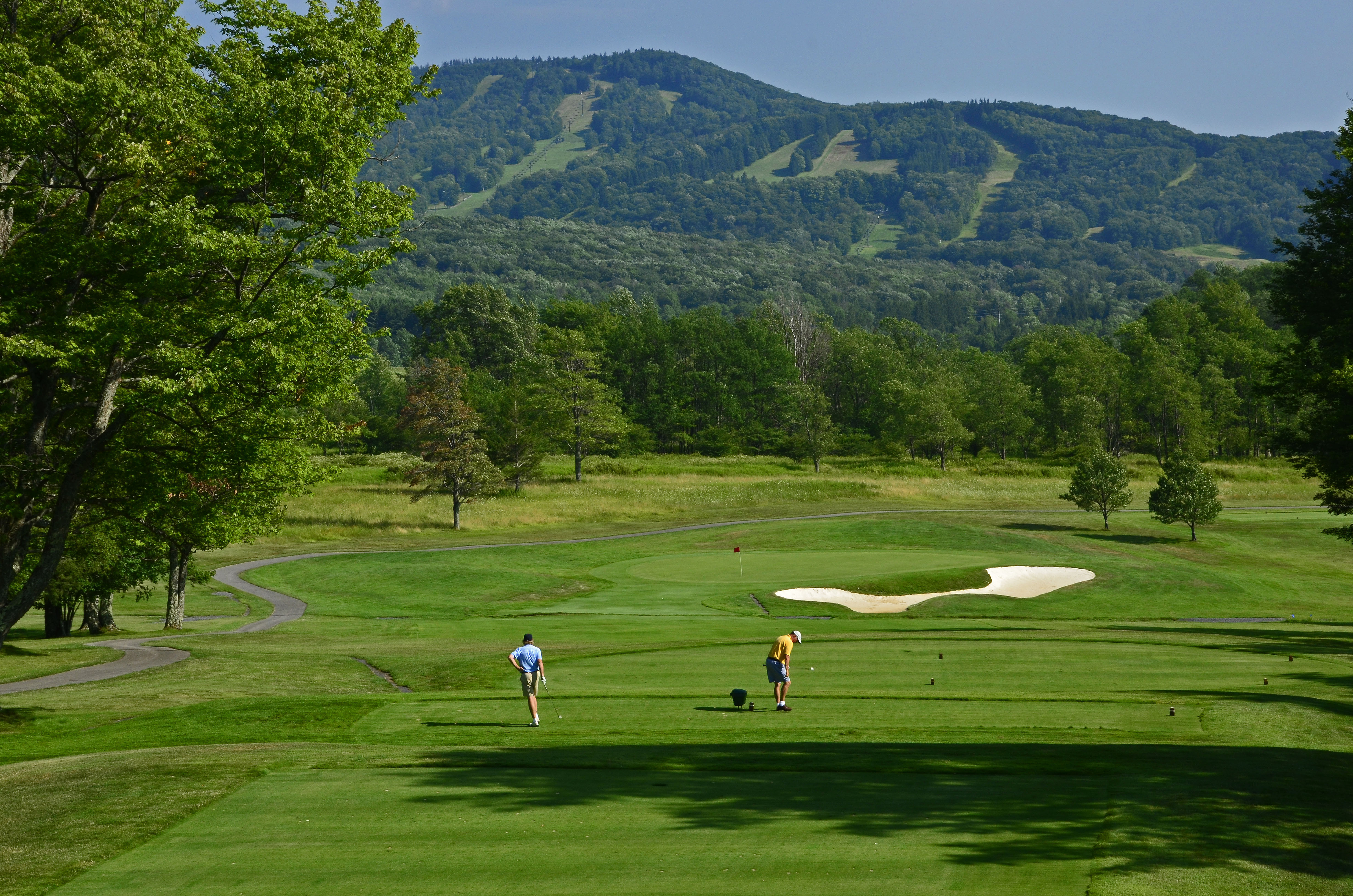 Canaan Valley Resort State Park Offers An 18 Hole Course And Overnight Golf  Packages.Canaan Valley, Tucker County, W.Va.