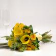Yellow Wedding Flower Collection - Toss Away Bouquet
