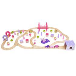 Bigjigs Rail Fairy Town Train Set