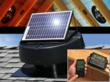 U.S. Sunlight Corp's Solar Powered Attic Fan and Solar Controller...
