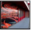 Vehicle wrap shop in Phoenix, AZ, 1st Impressions Truck Lettering, & Vehicle Wraps, a vehicle wrap shop  brick wall wrap installation 3M certified vehicle wrap shop