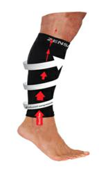 Compression helps relieve tired legs
