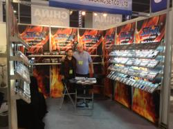CTS Wholesale Lighters displayed at the ASD Las Vegas show