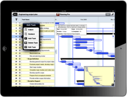 Planning Pro - Project Management app for iPad