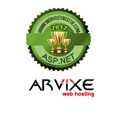 2012 Best ASP.NET Hosting - Arvixe