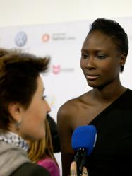 Interview with French supermodel Dji Dieng