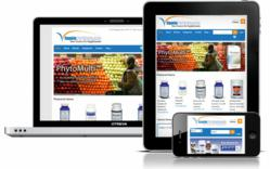 vitaminpartners.com on various screen sizes