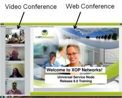 multi-media video and web conferencing