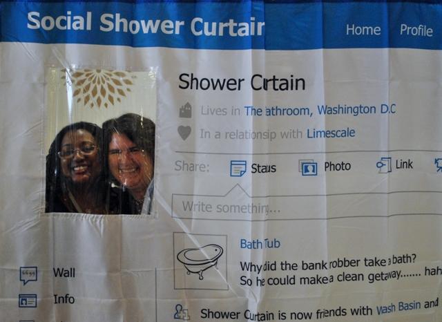 The Social Shower CurtainPhotos By Capturedcharms.com ...