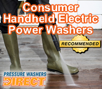 best handheld electric pressure washer, best handheld electric power washer, hand held electric pressure washer